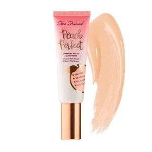 TOO FACED PEACH PERFECT FOUNDATION SNOW